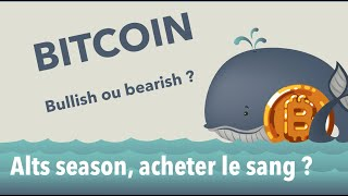 NEO [ANALYSE CRYPTO] Bitcoin & Altcoins :  Avalement baissier sur BTC ?   ETH, NEO, ZEN, ICX, WAN, PERL