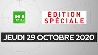 Attentat à Nice : Suivez l'édition spéciale de RT France