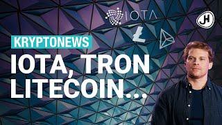 LITECOIN 5x Krypto News der letzten Tage: IOTA, Litecoin, Tron, Liechtenstein, Facebook
