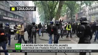 La mobilisation des Gilets jaunes continue en France pour l'acte 31
