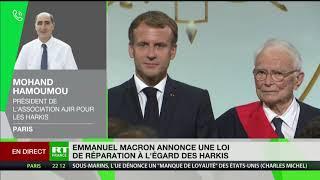 Harkis : «Il ne faut pas se polariser sur la demande de pardon», rappelle Mohand Hamoumou