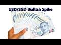 Alta à vista para USD/SGD
