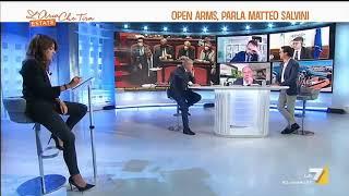 """BEL Processo Open Arms, l'autodifesa di Matteo Salvini in Senato: """"Preferisco il bel tacer dei 5 ..."""