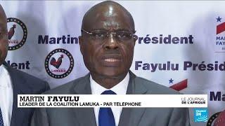 """Martin Fayulu : """"Le peuple congolais n'acceptera jamais que sa victoire lui soit volée"""""""