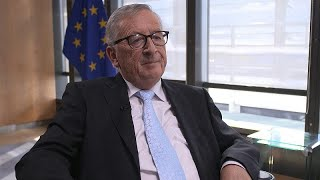Interview exclusive de Jean-Claude Juncker sur Euronews
