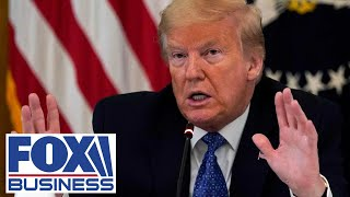 Live: Trump holds roundtable with industry execs on reopening plan