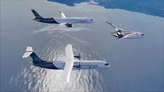 AIRBUS Airbus First! Wasserstoff-Passagierjet bis 2035