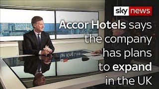 ACCOR Accor Hotels plan to expand its operations in the UK post-Brexit