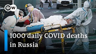 Moscow enters lockdown as the country is at risk to lead in global COVID infections | DW News