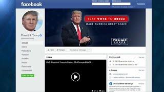 """FACEBOOK INC. Facebook: Trump al bando per 2 anni. """"Violò le regole durante l'assalto al Campidoglio"""""""