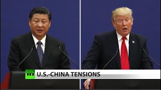 Trump says China not living up to trade deal