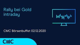 GOLD - USD Rally bei Gold intraday (CMC Börsenbuffet 2.12.20)