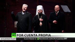 Ucrania anuncia la creación de una iglesia independiente