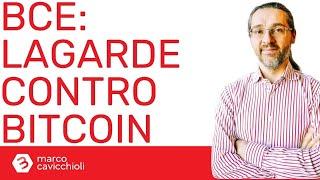 BITCOIN Le parole della Lagarde su Bitcoin preoccupano ingiustificatamente