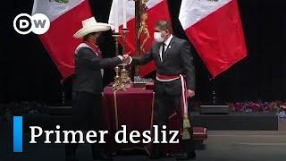 Perú: resbaladizo arranque del Gobierno de Pedro Castillo