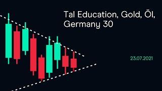 GOLD - USD Tal Education, Gold, Öl, Germany 30 ( CMC BBQ 23.07.21)