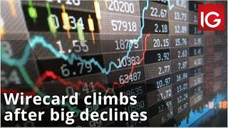WIRECARD AG Wirecard climbs after big declines last week