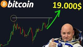 BITCOIN BITCOIN VERS LA LUNE AVEC UN PREMIER ARRET AUX 19.000$ !? btc analyse technique crypto monnaie
