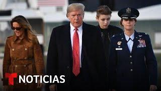 FACEBOOK INC. Trump reacciona a la extensión de su suspensión en Facebook | Noticias Telemundo