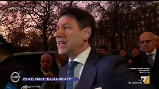 """MES, Giuseppe Conte: """"Nessun problema con Luigi Di Maio, ci sentiamo quotidianamente"""""""