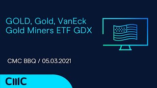 GOLD - USD GOLD, Gold, VanEck Gold Miners ETF GDX ( CMC BBQ 05.03.21)