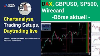 GBP/USD Punkt 10 - Am Puls der Märkte: DAX, FTSE, SP500, WIRECARD, GBP/USD - 23.06.2020