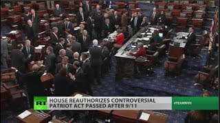 AMP LIMITED GOP & Dems unite to extend PATRIOT Act