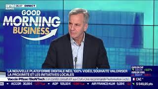 NEO Bernard De La Villardière (Néo) : Néo se dote d'une équipe de 20 journalistes