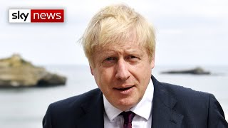 Boris Johnson says the chances of a Brexit deal are 'improving'