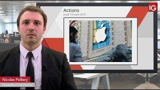 APPLE INC. Bourse   L'optimisme pas encore de rigueur sur Apple   IG 14 03 2019