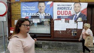 Présidentielle en Pologne : un scrutin qui s'annonce très serré