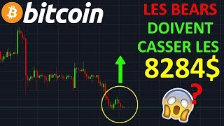 BITCOIN BITCOIN 8284$ GROS NIVEAU DE SUPPORT !? btc analyse technique crypto monnaie