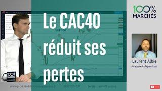 CAC40 INDEX Le CAC40 réduit ses pertes - 100% Marchés - soir - 21/09/2021