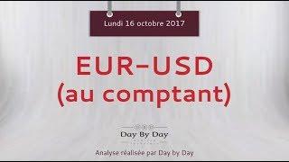 EUR/USD Vente EUR/USD au comptant - Idée de trading IG 16.10.2017