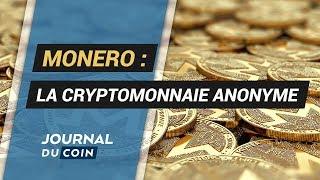 MONERO ANALYSE MONERO : La Cryptomonnaie Anonyme