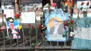 """Caravana de las """"mil flores"""" para homenajear a Néstor Kirchner a 10 años de su muerte"""