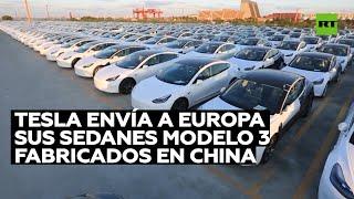 Testa exportará a Europa sus autos fabricados en China