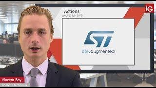 STMICROELECTRONICS Bourse - STMICROELECTRONICS, pourrait profiter de la Fed  - IG 20.06.2019