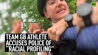 UK athlete shares video of police FORCIBLY removing her from car