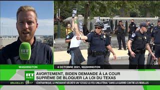 SUPREME ORD 10P Avortement : Biden demande à la Cour suprême de bloquer la loi du Texas
