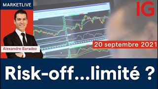 CAC40 INDEX Analyse des marchés 11h - 20/09/2021  (CAC40 DAX30 SP500 DOWJONES NASDAQ100...) BCE