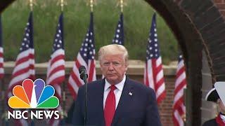 President Trump Defends Coronavirus Pandemic Response | NBC Nightly News