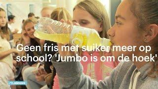 SUGAR Geen fris met suiker meer op school? 'De Jumbo is om de hoek'  - RTL NIEUWS