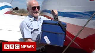 Flying Doctors take vaccines to Australia's outback - BBC News