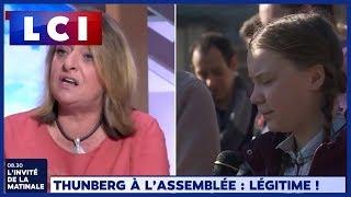 Thunberg à l'assemblée :  légitime !
