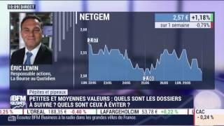 NETGEM Pépites Pipeaux: Netgem  - Eric Lewin sur BFM Business - 2905