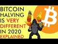 BITCOIN HALVING IS VERY DIFFERENT IN 2020 (EXPLAINED) - $10,000 KEY PRICE RESISTANCE