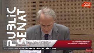 RENAULT Les dirigeants du groupe Renault face aux sénateurs - Les matins du Sénat (25/09/2019)