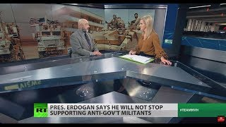 Erdogan 'playing with fire' in Idlib – fmr Pentagon official
