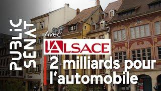A la une de L'Alsace : « Automobile : deux milliards pour la filière »